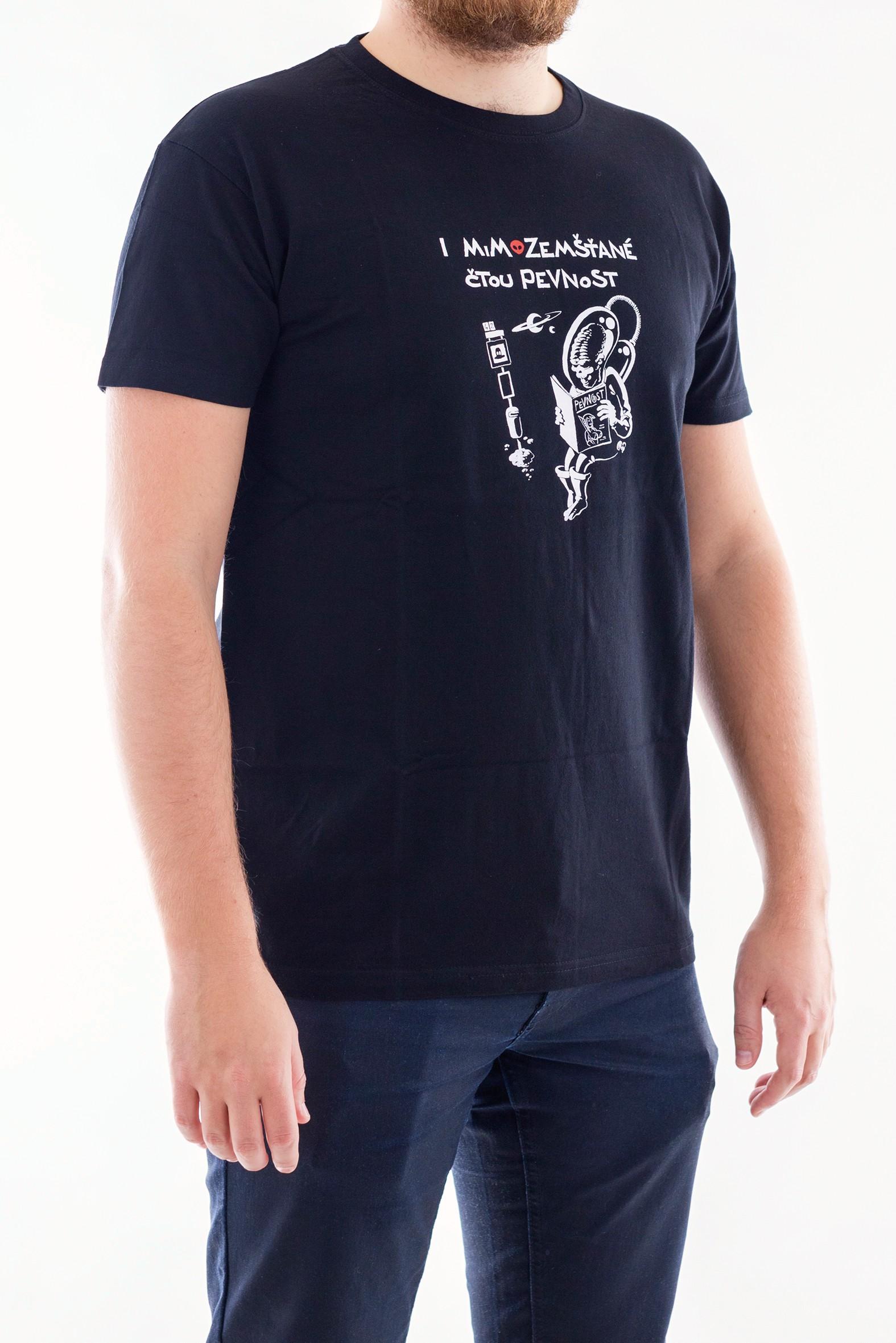 Pánské tričko s mimozemšťanem - 3