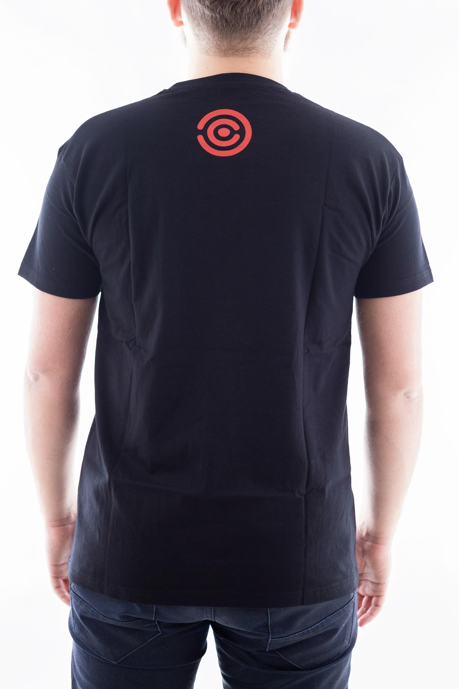 Pánské tričko Evoluce - červené - 2