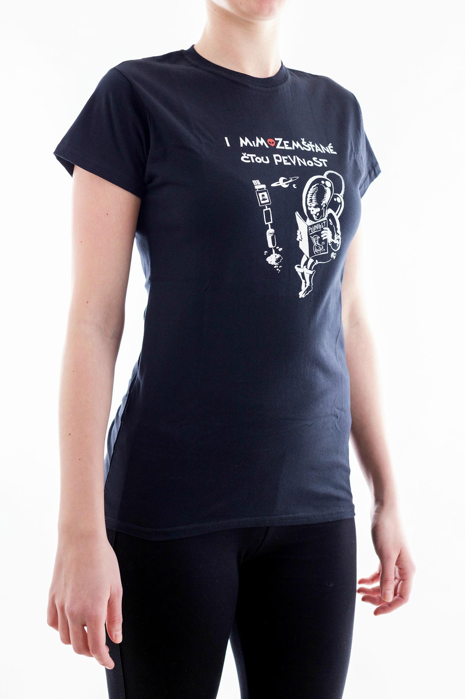 Dámské tričko s mimozemšťanem - 3