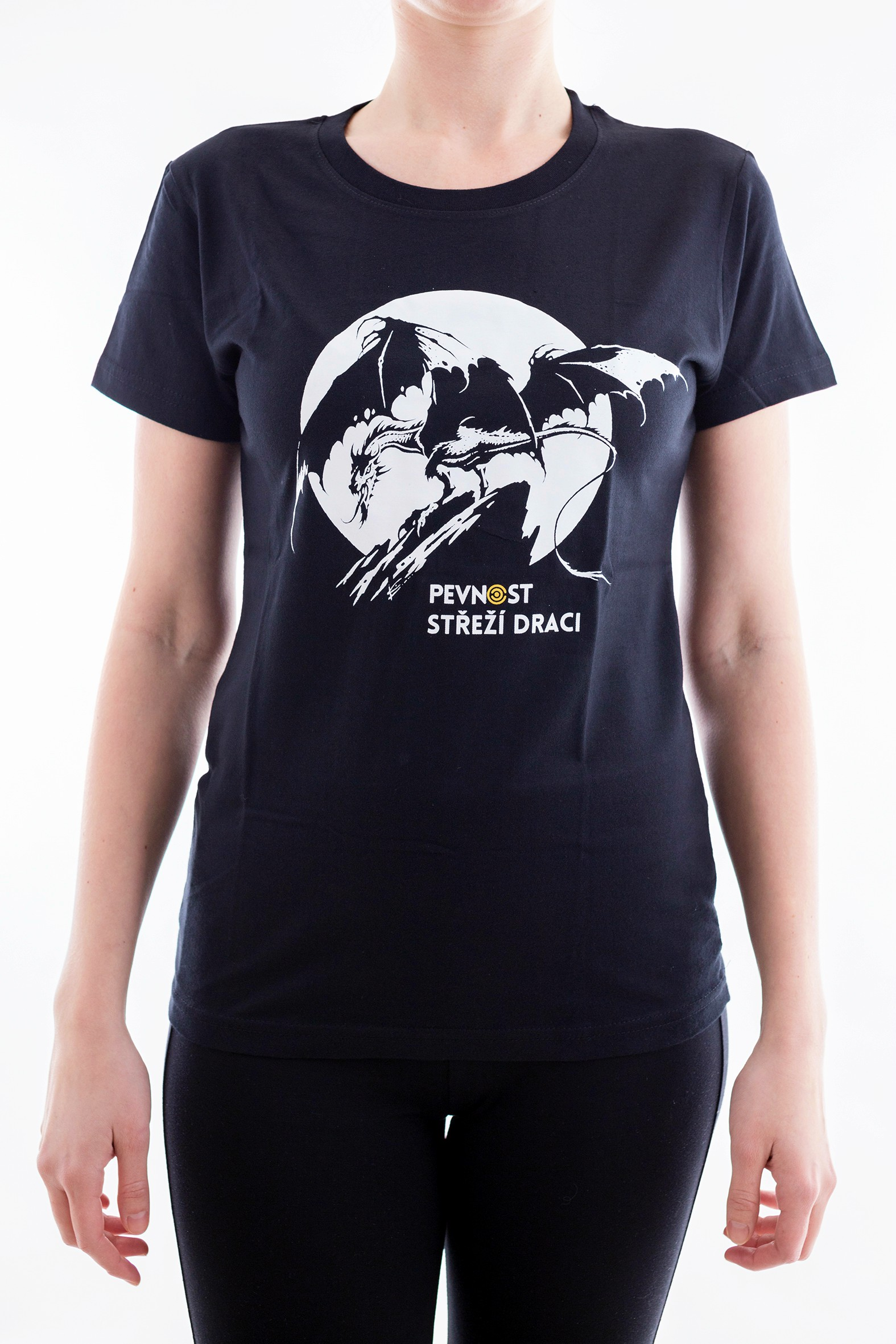 Dámské tričko s drakem - 1