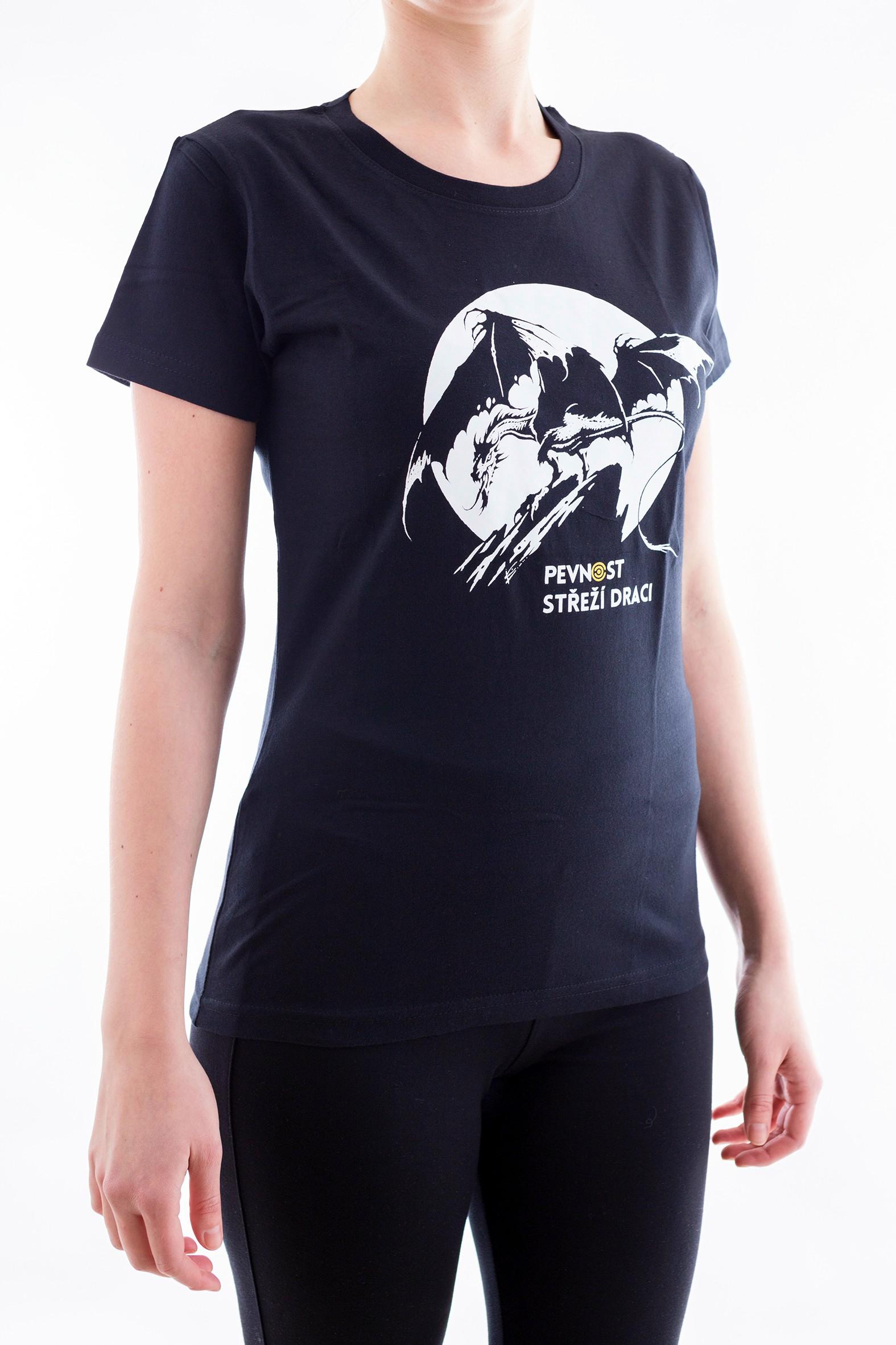 Dámské tričko s drakem - 3