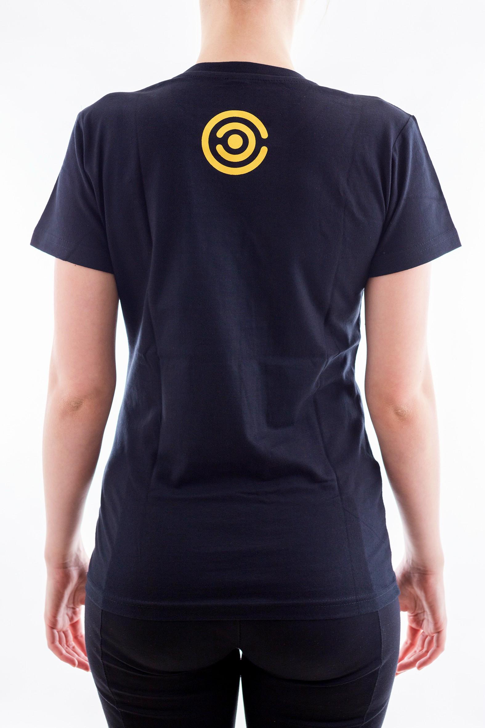 Dámské tričko Evoluce - žluté - 2