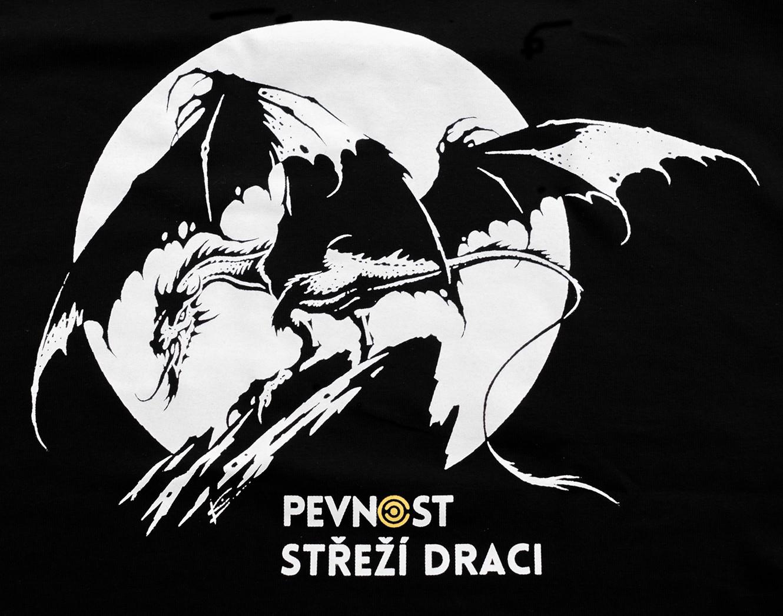 Pánské tričko s drakem - 4