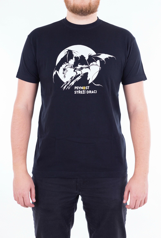 Pánské tričko s drakem - 1