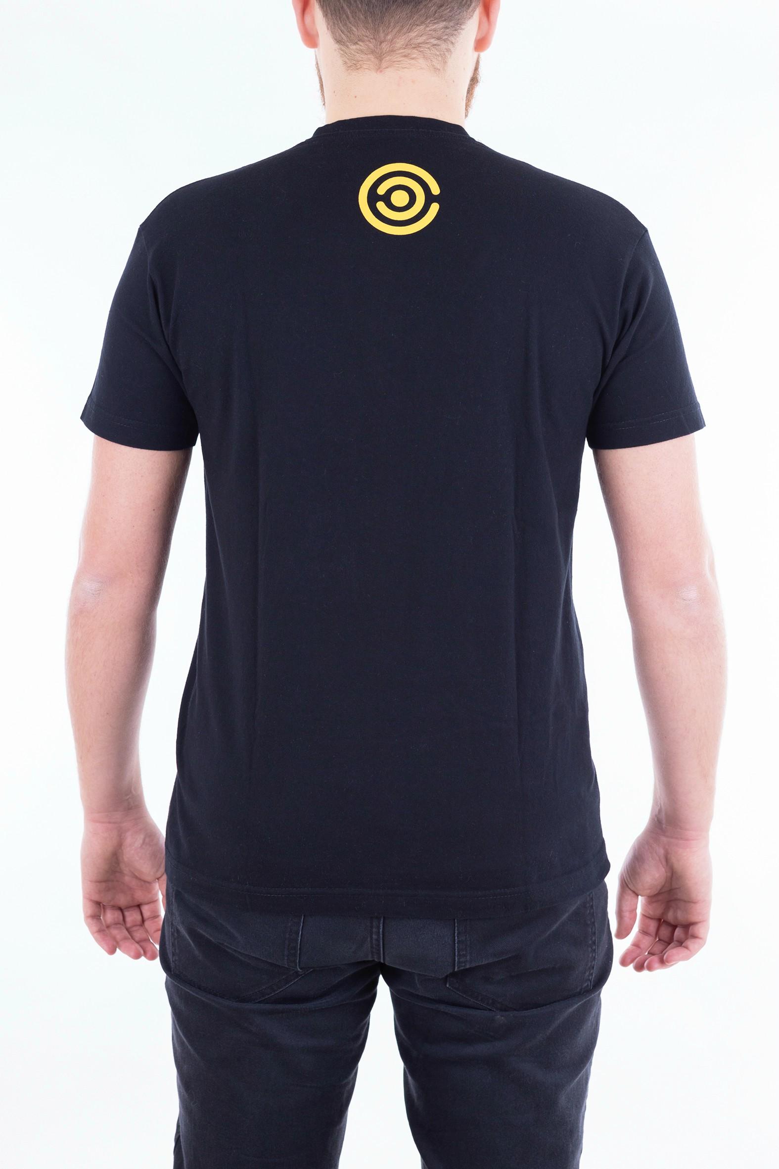 Pánské tričko Evoluce - žluté - 2