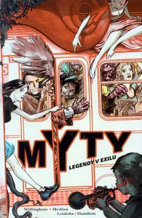 Skvělý plnobarevný komiks, který otevírá jedinečnou sérii Mýty.