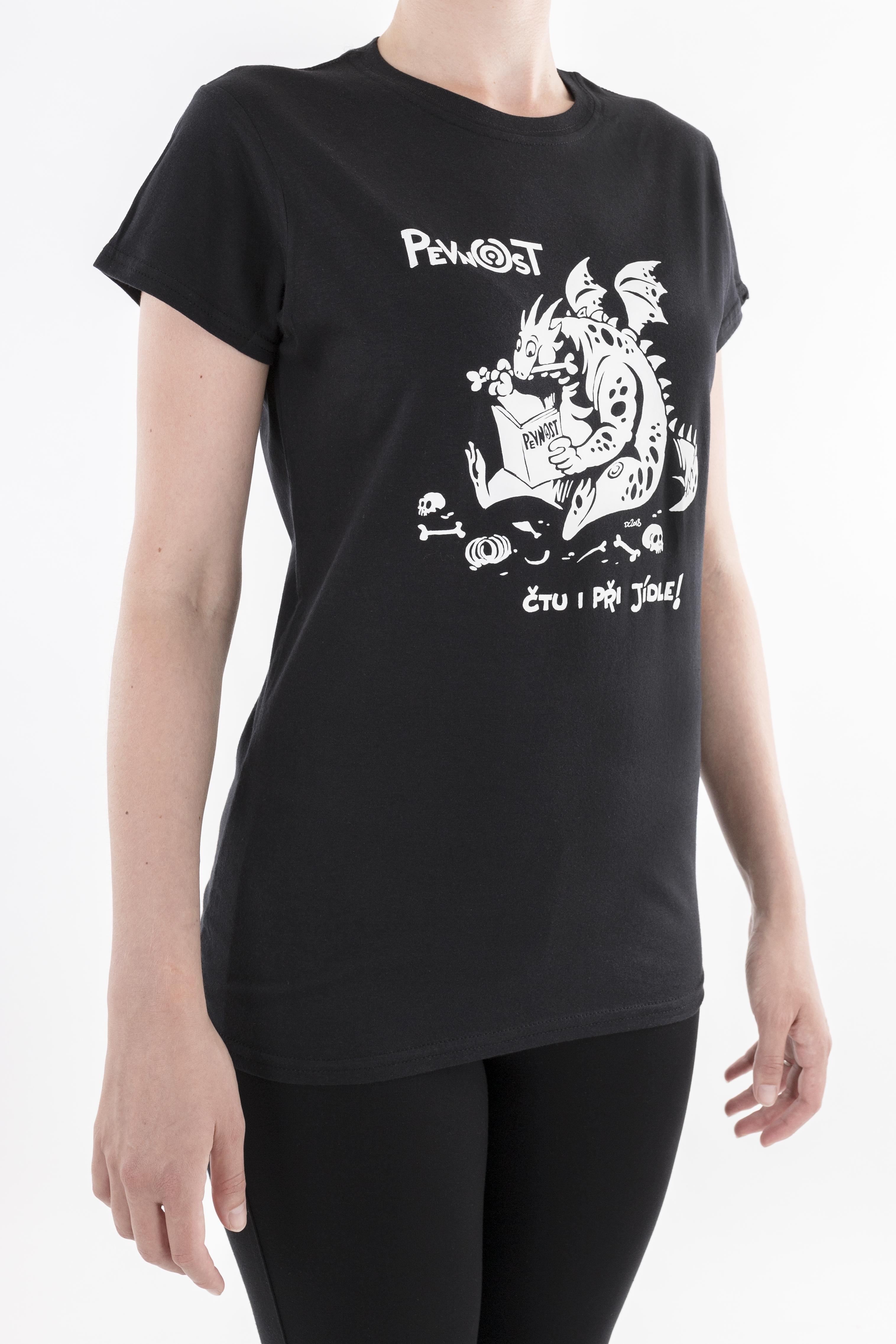 Dámské tričko Drak jedlík - 3