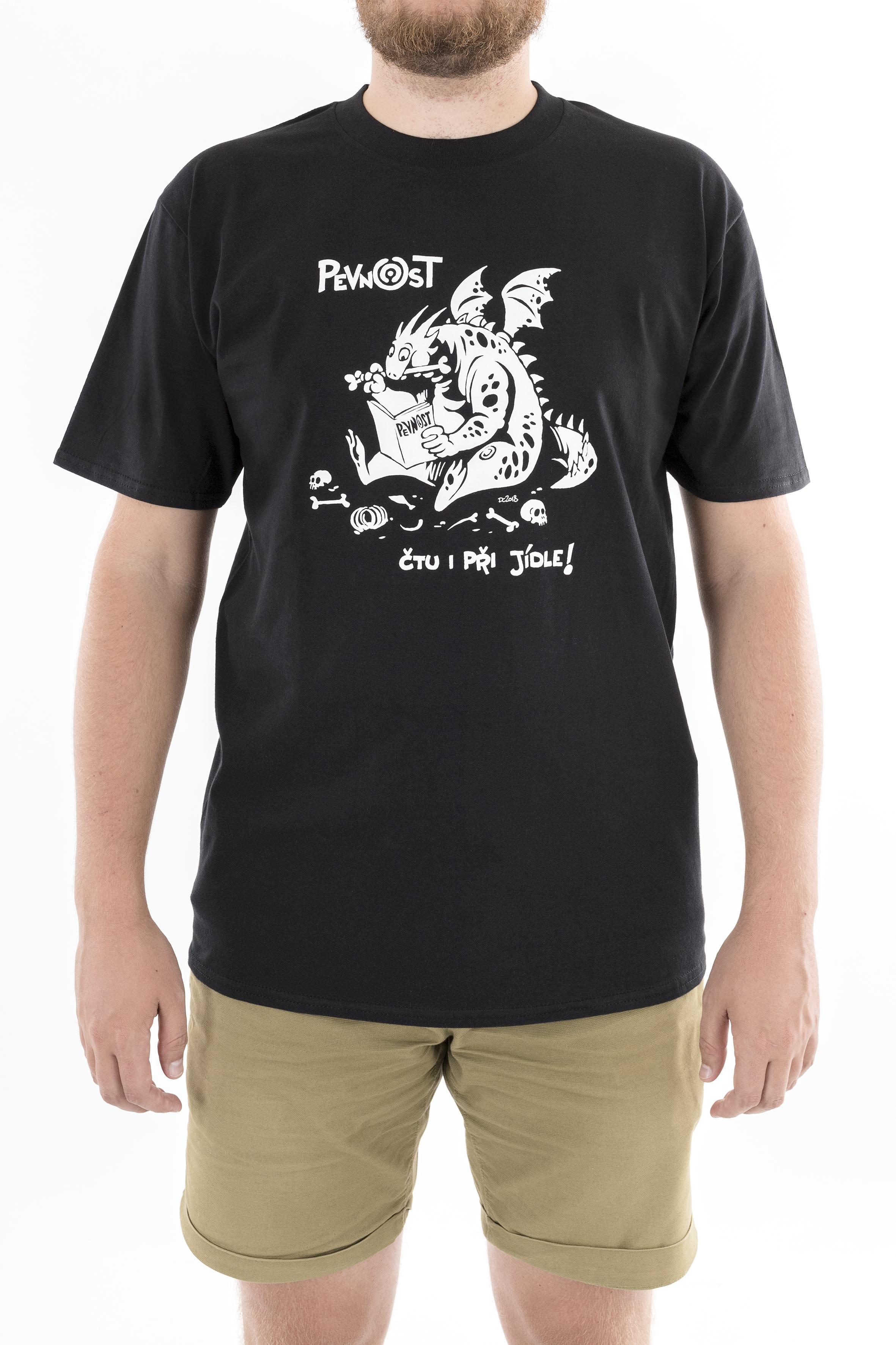 Pánské tričko Drak jedlík - 1