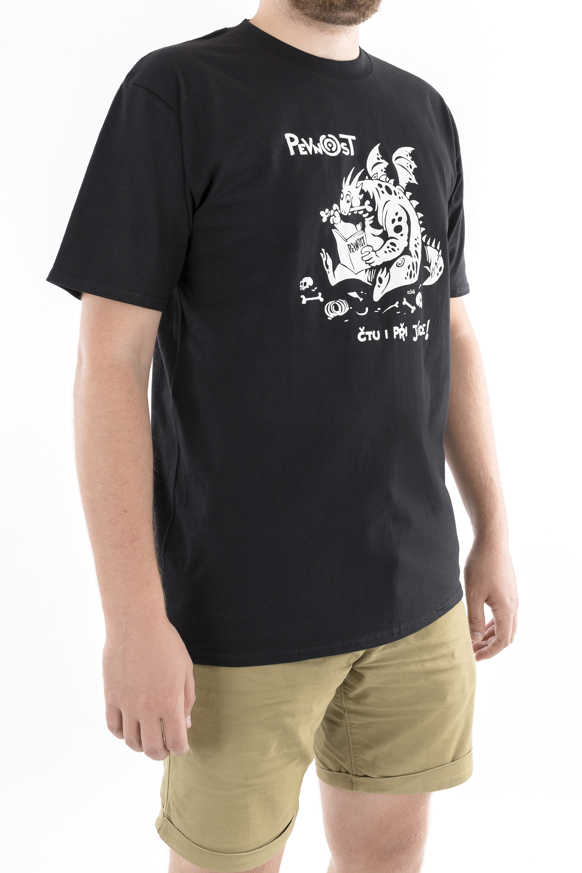 Pánské tričko Drak jedlík - 3