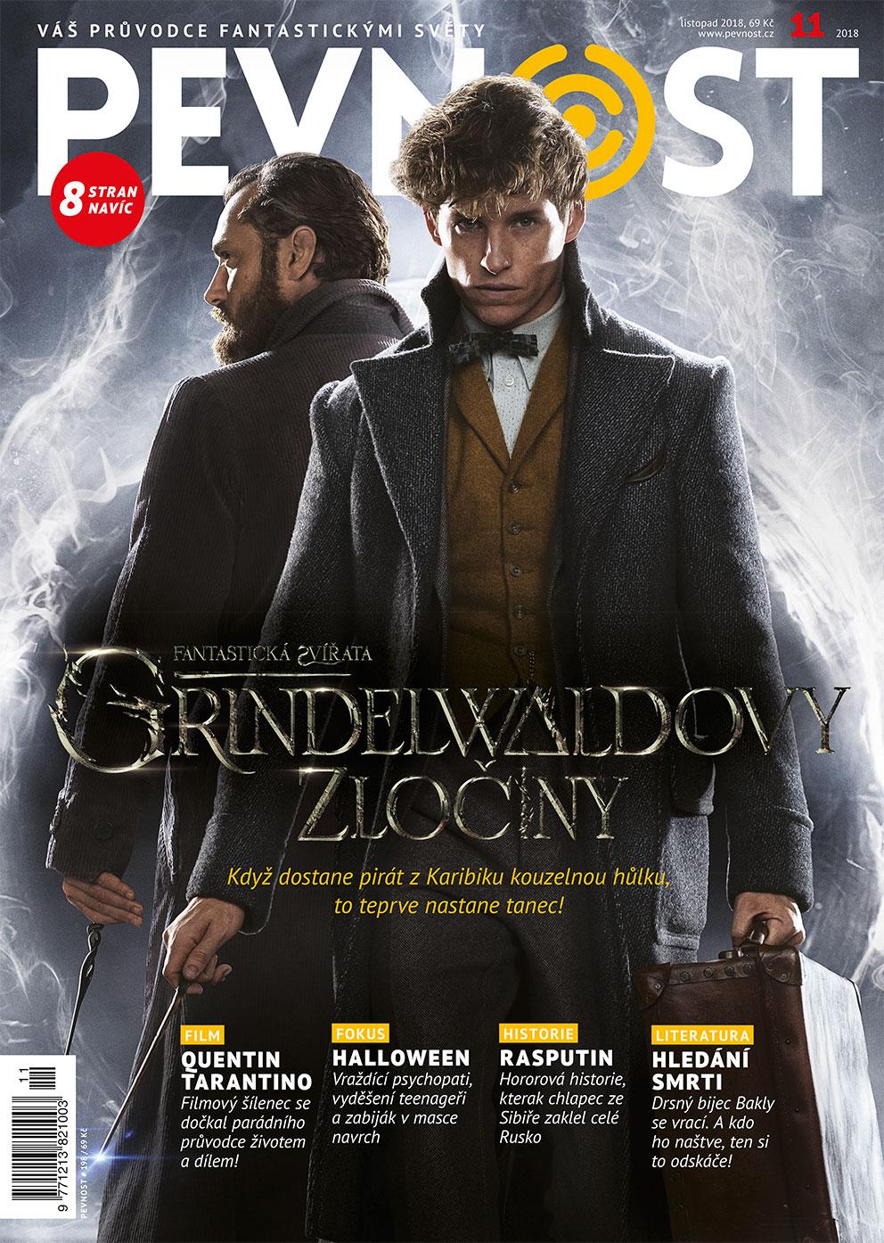 Zalistujme se do bestselleru od Mloka Scamandera, jeho zvířátka jsou zpět. A s nimi Grindelwald. A bradavice. A ta nejúžasnější magie, co je dneska k mání. A taky nová Pevnost. Která zná fantastickou faunu a ví, kde ji najít!