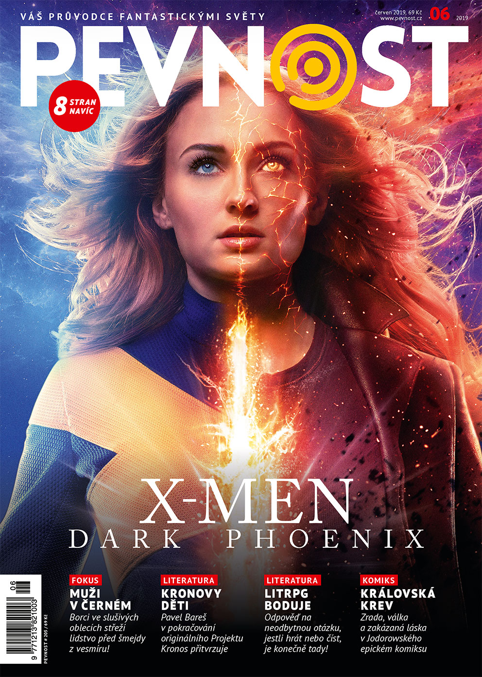 Na křídlech temného fénixe zavítá nová Pevnost do světa X-menů. Stihneme toho ale pochopitelně víc. A dokonce nahodíme antracitovou vázanku. Co taky jiného čekat od pevnostních dam a mužů v černém!