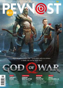 Nalaďte ty nejlepší válečné barvy a přestaňte se bát bohů! Nová Pevnost, Kratos a spousta beneluxusního čtiva jsou konečně tu!!!