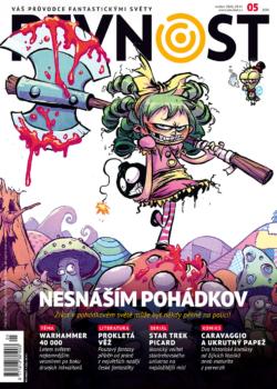 Už víte, jak skvěle se dokáží snoubit pohádky s komiksem? A taky fandíte Warhammeru? Žádné viry nás nezastaví, a tak je tu nová Pevnost, jako vždy plná barev, dobrodružství a fantastických příběhů!!!