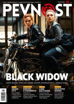 Její přezdívka je tak temná jako její minulost. Black Widow ale rozhodně není jedinou hrdinkou nové květnové Pevnosti. I tentokrát svět fantastiky září všemi barvami a je nadpozemsky krásný.