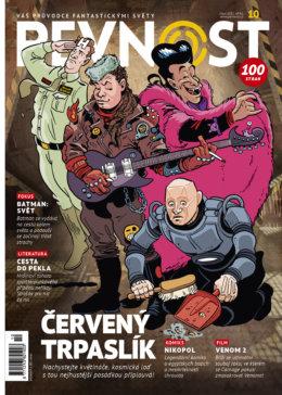 Nachystejte uzenáče, na Svět knihy a Comic-con Prague jsme zpět. Nejen Červeným trpaslíkem ale živ je člověk. A navíc k vám nová Pevnost přichází hned se dvěma obálkami!!!